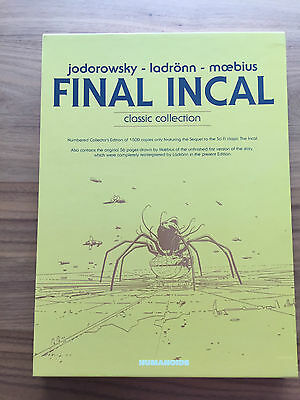 Final Incal Classic Collection Absolute Collection Limited Edition Jodorowski