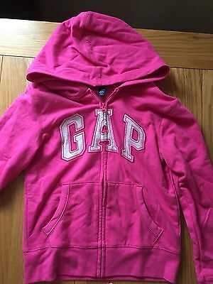 **GAP** Pink Hooded Jacket 10-11yrs Ex Con