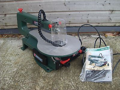 Parkside PDKS 120 A2 Variable Speed Scroll Saw - As Photo's