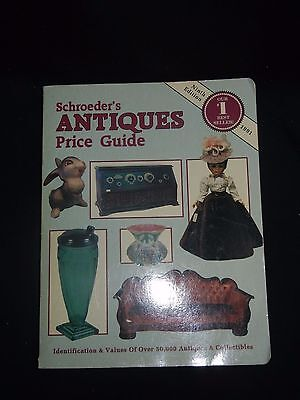 Schroeder's Antiques Price Guide Ninth Edition - 1991 - GOOD