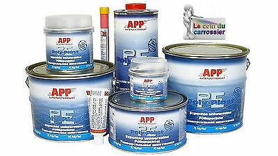 4 kg Mastic universel garnissant polyester , auto, carrosserie