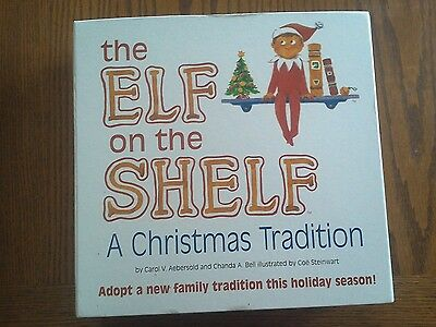 The Elf on the Shelf: A Christmas Tradition (includes blue-eyed boy