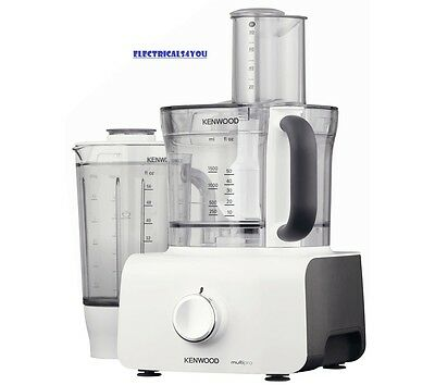 Kenwood Fdp613Wh Multipro Food Processor, - White, 1000W