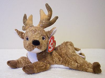 """Ty Beanie Babies Collection  """"roxie""""  Reindeer"""