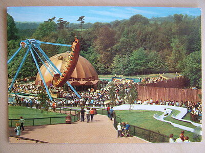 John Hinde Postcard ALTON TOWERS, THE SPRINGFIELD CENTRE. Unused