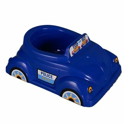 Blue Musical Potty Car Police/Taxi , Potty Training