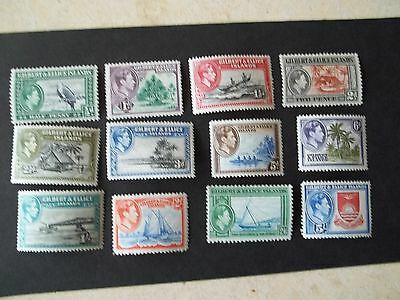 Gilbert and Ellice 1939 full set to 5/-, good value, Combines postage