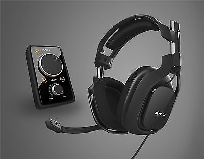 Astro A40 Gaming Headset With Mixamp Pro Black PC PS4 Xbox One