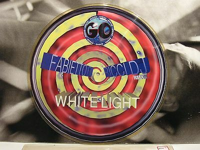 "Fabietto Dj - Ricci Dj - White Light 12"" Picture Excellent 1996 Go Ahead Goa 002"