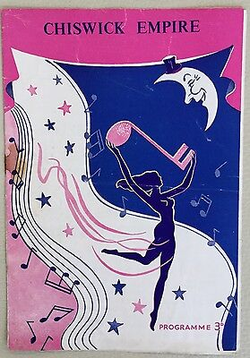 MAX MILLER Programme. At the Chiswick Empire 1955.