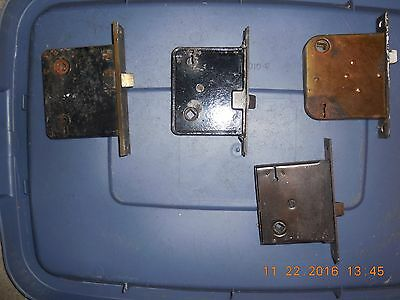 4 Antique Vintage  Entry Door Latches