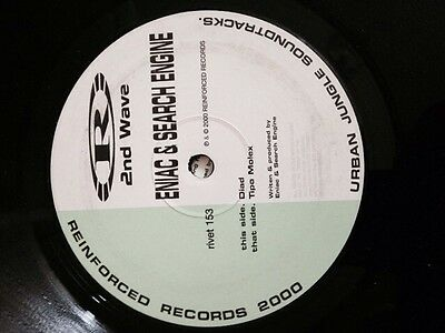 """Eniac & Search Engine- Diad/ Tipo Molex 12"""" Reinforced Recordings Drum and Bass"""