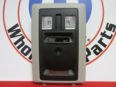 DODGE RAM 1500-5500 Overhead Console Housing With LED lamps NEW OEM MOPAR