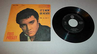 Elvis Presley It's Now Or Never / Make Me Know It