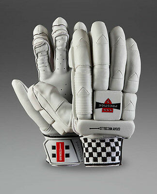 2017 Gray Nicolls Prestige Heritage Batting Gloves Size Mens RH & LH