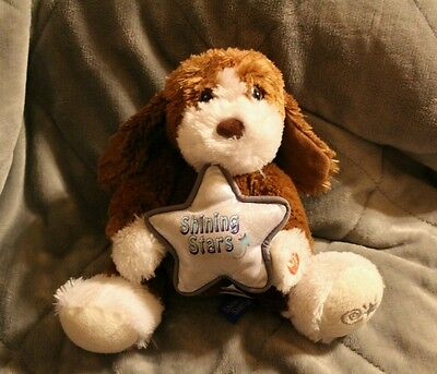 Shining Stars Musical Plush Puppy ~ Works Puppy Only (E)