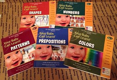Your Baby Can Read! Learn Robert Titzer, PhD  Developing Minds 5 Lift Flap Books