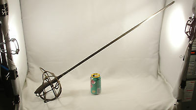 Antique European Dueling Sword Shark Skin Handle