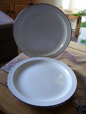 "3 X Midwinter Creation Dinner Plates 10.25"" Dia"