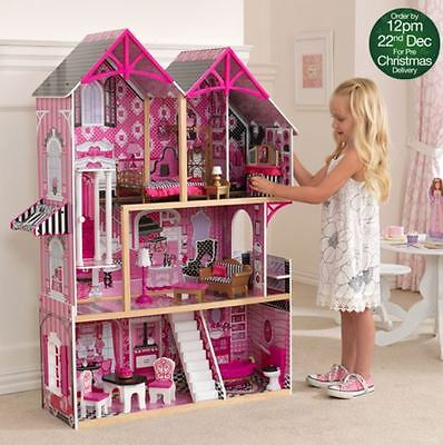 KidKraft Couture Dollhouse + 14 Pieces of Furniture (3+ Years)
