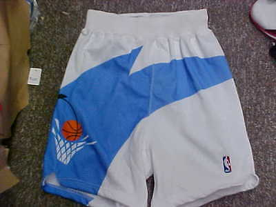 NBA 1994-1995 Cleveland Cavaliers Game Worn White Champion Game Shorts Size- 36