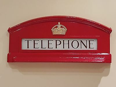 Cast Of The Top Front Of K6 Red Telephone Box, Booth, Kiosk