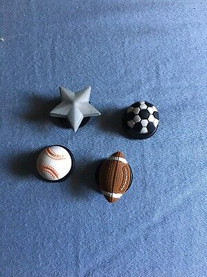 Sport Ball Jibbitz Shoe Charms Fit Crocs Shoes And Accessories