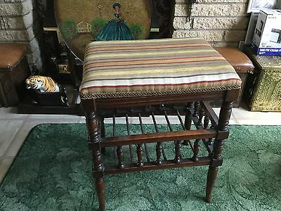 Vintage art deco / modernist piano stool