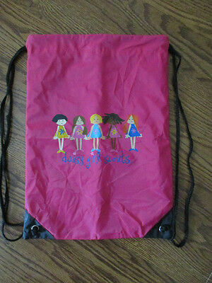 Daisy Girl Scout Drawstring Bag, Backpack,  VGC