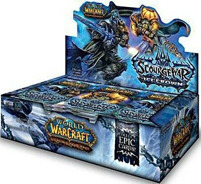 Wow World Of Warcraft Tcg : Icecrown Booster Box New Sealed