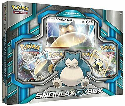 TCG: Snorlax GX Box Card Game (Ships Immediately)