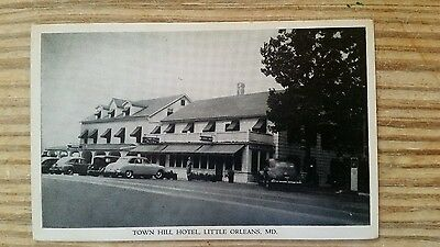 Little Orleans Maryland  Postcard Town Hill Hotel