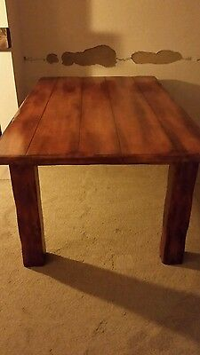 solid mango wood dining table