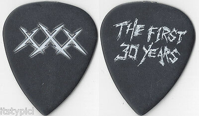 Metallica 2011 The First 30 Years Guitar Pick Black