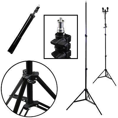 "Tall 83"" Premium Studio Light Stand Tripod for Photo Video Lighting Photography"