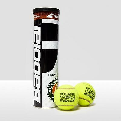 BABOLAT French Open Tennis Ball x4 One Size Yellow