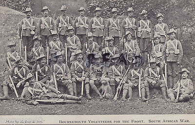 Soldier group Volunteer Company Hampshire Dorsetshire Regiment Bournemouth