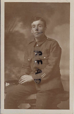 WW1 soldier Private Lincolnshire Regiment Lincolns 2x wounded  Worksop photo