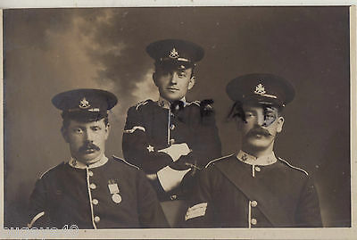 Soldier NCO Group Notts & Derby Regiment TF Territorial Full Dress 5 Bar QSA