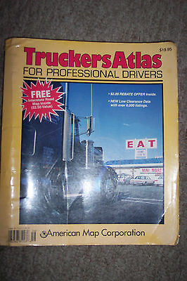 Truckers Atlas For Professional Drivers by American Map Corporation