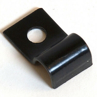 Gridwall Mounting Clips - Grid Panel Mounting Clips - Black - 20 Pieces