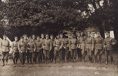 Officer Group 6th East Surrey Regiment TF Territorials at annual camp
