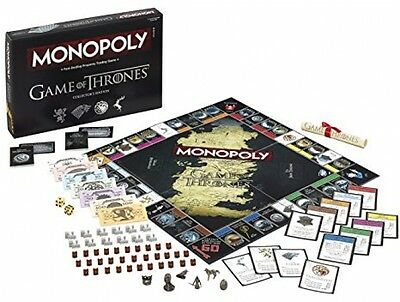 game of thrones monopoly game collectors edition. Black Bedroom Furniture Sets. Home Design Ideas