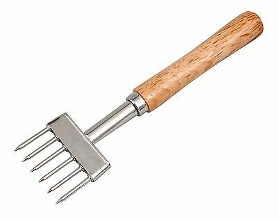 6 Pointed Wooden Handled Ice Chipper, Pick | Cocktail Mixology, HEVY DUTY