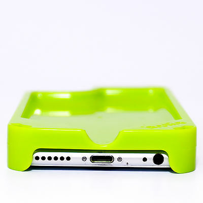 Green - iRollie Cell Phone Rolling Tray - iPhone 5/5S