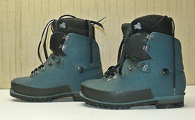 IOWA Climbing Mountain Boots Men's Size 10.5 Dark Green.