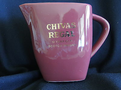 Chivas Regal Scotch Whisky Water Jug- Made By Wade-England - Very Good Condition