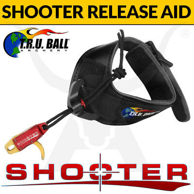 TRU Ball Shooter Release Aid - Wrist Strap Lanyard style finger trigger