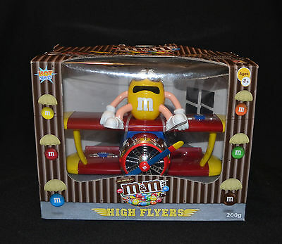 M & M's High Flyers Plane In Collectable Box 2014
