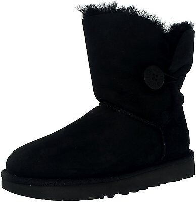 Ugg Women's Bailey Button II Ankle-High Suede Boot